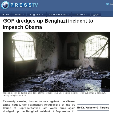 Tarpley PressTV Article