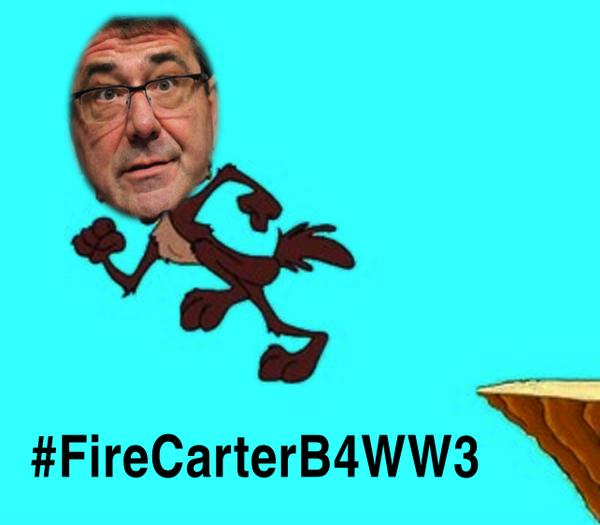 #FireCarterB4WWW3