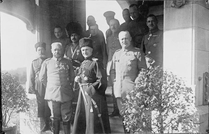Hindenburg, Skoropadsky and Ludendorff