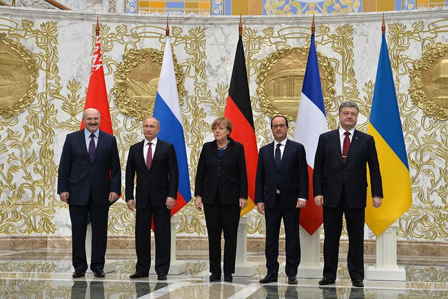 Normandy format talks in Minsk (February 2015)