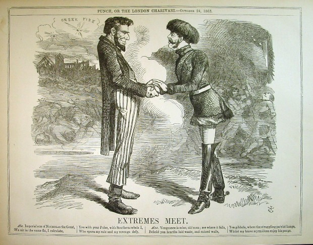 Punch cartoon, Oct. 24, 1863