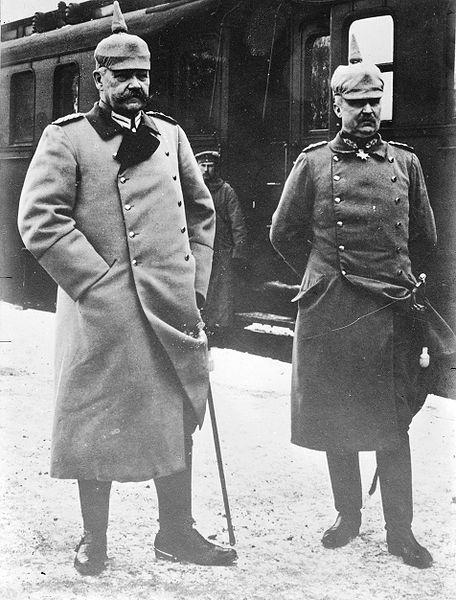 Hindenburg e Ludendorf